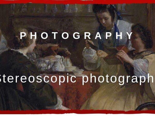 Stereoscopic photography capa