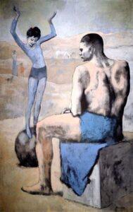 Pablo Picasso Acrobata com bola