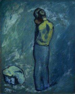 Pablo Picasso mae e filho