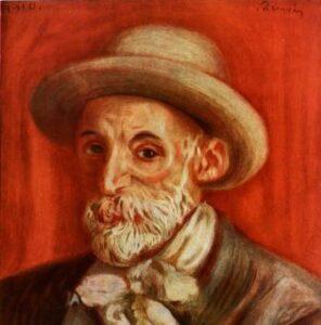 Pierre Auguste Renoir auto retrato