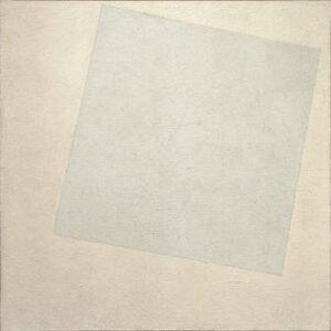 Kazimir Malevich white on white