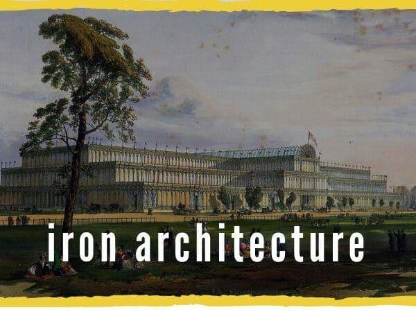 industrial revolution iron architecture
