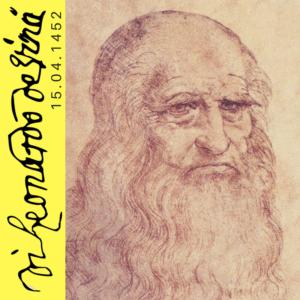 Dia Mundial da Arte 15_04_1452_Nasce Leonardo Da Vinci _ World Art Day