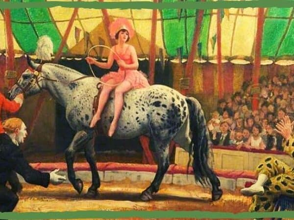 Dame Laura Knight The circus