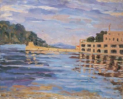 pinturas de Winston Churchill paisagens